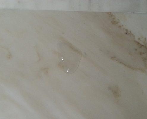 Geïmpregneerde marmeren vloer