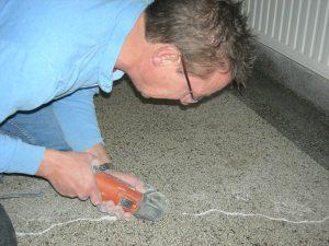 Renovatie granitovloer