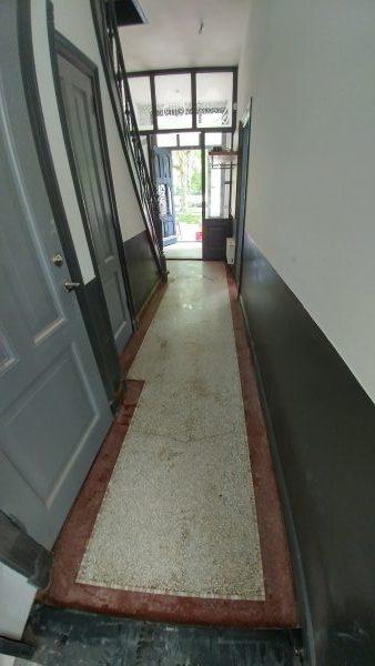 Granito gangvloer na renovatie